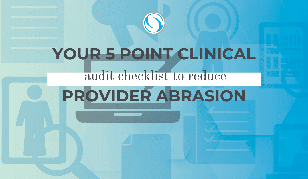 clinical audit checklist